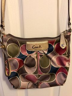 Coach crossbody with matching coin purse