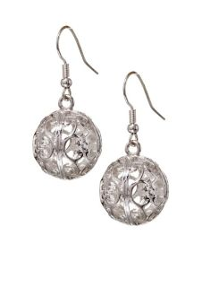 ***BRAND NEW***Large ROUND Ball Filligree Earrings***