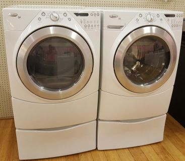 Front load washer and dryer whirpool duet ( electric)