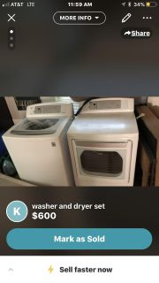 Lg multi function washer an dryer set dle49801 edition