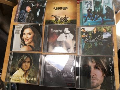 Good CD's: Country, Rock n Roll, Rhythm and Blues, Pop, Idols