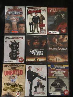 Assorted DVD lot
