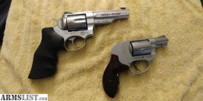 For Trade: Ruger gp100 match champion,s&w 638
