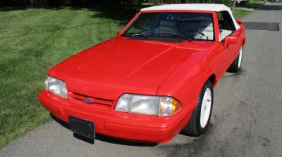 1992 Ford Mustang CONVERTIBLE (RED)