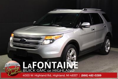 2014 Ford Explorer Limited (Ingot Silver)