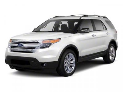 2012 Ford Explorer Limited (White Platinum Metallic Tri-Coat)