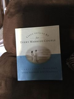 Guc Lists to live by for every married couple book