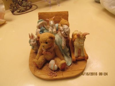 """Cherished Teddies"" Collectible Numbered Piece - ""Old Friends Are The Best Friends"""
