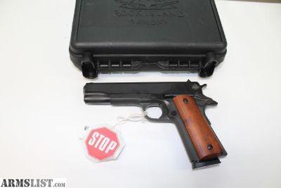 "For Sale: NEW Rock Island Armory 1911-A1 FS .45 ACP, 5"""