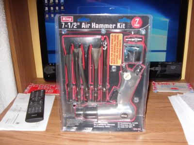 "7 and 1/2"" air hammer kit"
