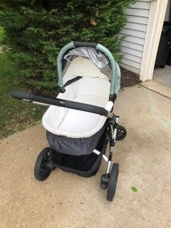 UPPA Baby Stroller and Bassinet