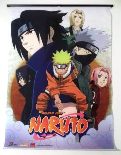 Naruto Shonen Jump Canvas Cloth Poster Screenprint