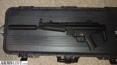 For Sale: HK MP5 22 clone