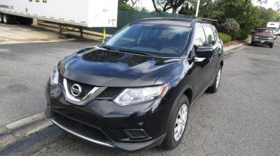 2016 Nissan Rogue 4dr S (Magnetic Black)