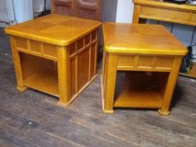 Heavy end tables
