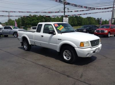 2001 Ford Ranger Edge Plus (White)