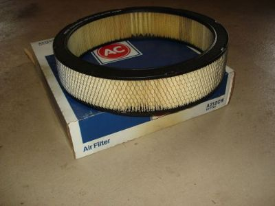Purchase 66 67 68 69 70 71 NOS AC A212CW AIR FILTER BBC CORVETTE CAMARO GTO NOVA CHEVELLE motorcycle in Louisville, Ohio, United States, for US $299.95