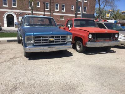 Two 1976 C10s
