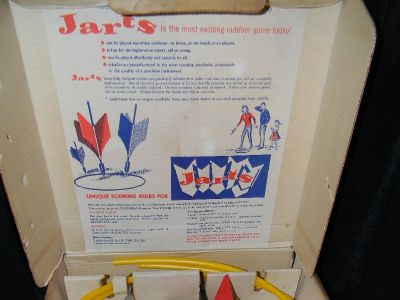 Vintage Missle Jart Sets Red and Blue w/ box