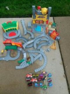 Thomas diecast track set with diecast engines everything you see $35