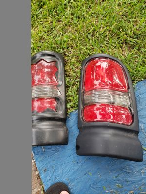 Tail lights from a 97 Dodge Ram Pickup