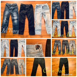 Boys jeans size 7 Old Navy and Cat n Jack