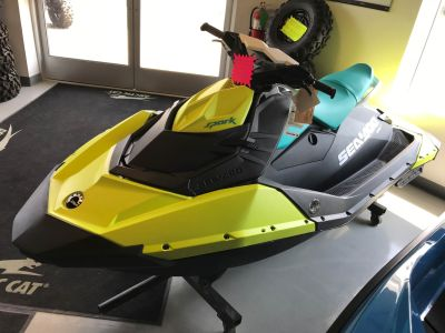 2018 Sea-Doo SPARK 2up 900 H.O. ACE iBR & Convenience Package Plus 2 Person Watercraft Hillman, MI