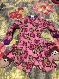 Circo Zip Up Footed Pajama s Size XS