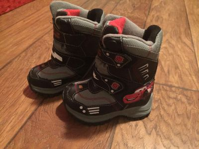 Disney Cars Toddler Snow Boots size 7