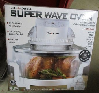 Bell & Howell Super Wave Oven - Needs Bulb