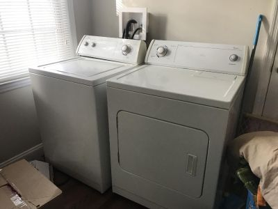 Amana Whirlpool Washer and Dryer Set