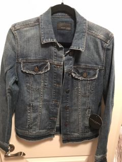 NWT Articles of Society Jean Jacket