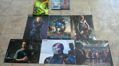 Avengers Collection: Posters, 2 films and a t- shirt