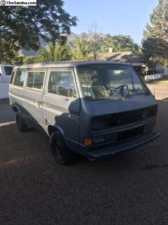 1984 vanagon body and rolling chassy