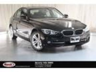 Used 2016 BMW 3 Series Black, 26.2K miles