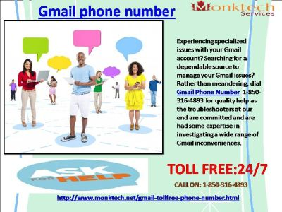 How Much Do I Need To Pay For 1-850-361-8504 Gmail Phone Number ?