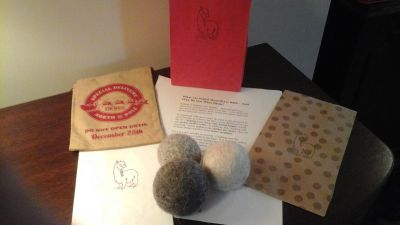 Felted Wool Dryer Balls - Great Christmas Gifts