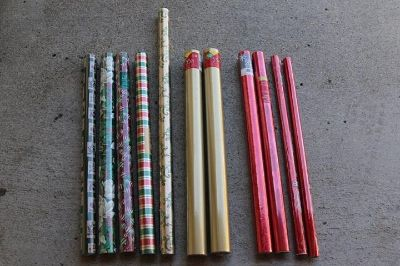 New! Sealed - Christmas Wrapping Paper - 11 rolls -- all for $25
