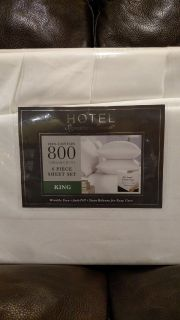 New King Size 800 THREAD COUNT 6 piece Sheet Set