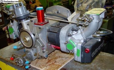 *NEW VW 2935cc AUTOCRAFT Engine NEVER RUN Motor
