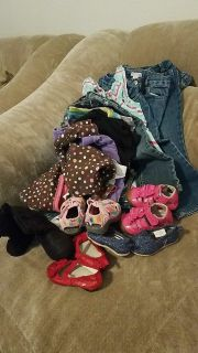 FREE! 18months baby girl clothes.