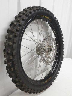 Buy 2008 Honda CRF450 CRF 250 450 CR 125 250 Black Excel Front Wheel Assy 00 - 12 motorcycle in Oconomowoc, Wisconsin, US, for US $198.00
