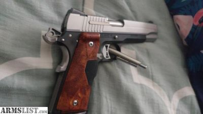 For Sale/Trade: Sig sauer 1911 crimson trace