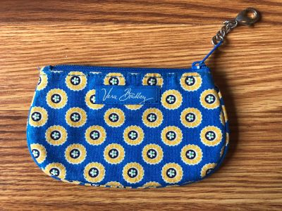 Vera Bradley coin purse/ID holder (2nd pic shows where ID can go)