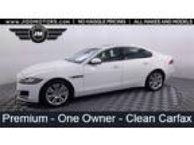 Used 2017 Jaguar XF White, 31.8K miles