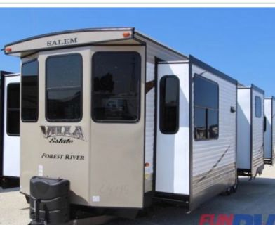 2016 forest river villa 38 ft double bedroom travel trailer