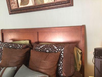 Cherry Solid Wood Queen Bedroom Set