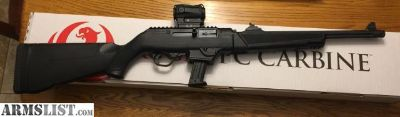 For Sale: Rifle/Pistol combo Ruger PC Carbine and Ruger 9E both new