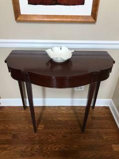 """Antique """"Demi-Luna"""" table"""