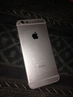 Silver Iphone 6-6s back part